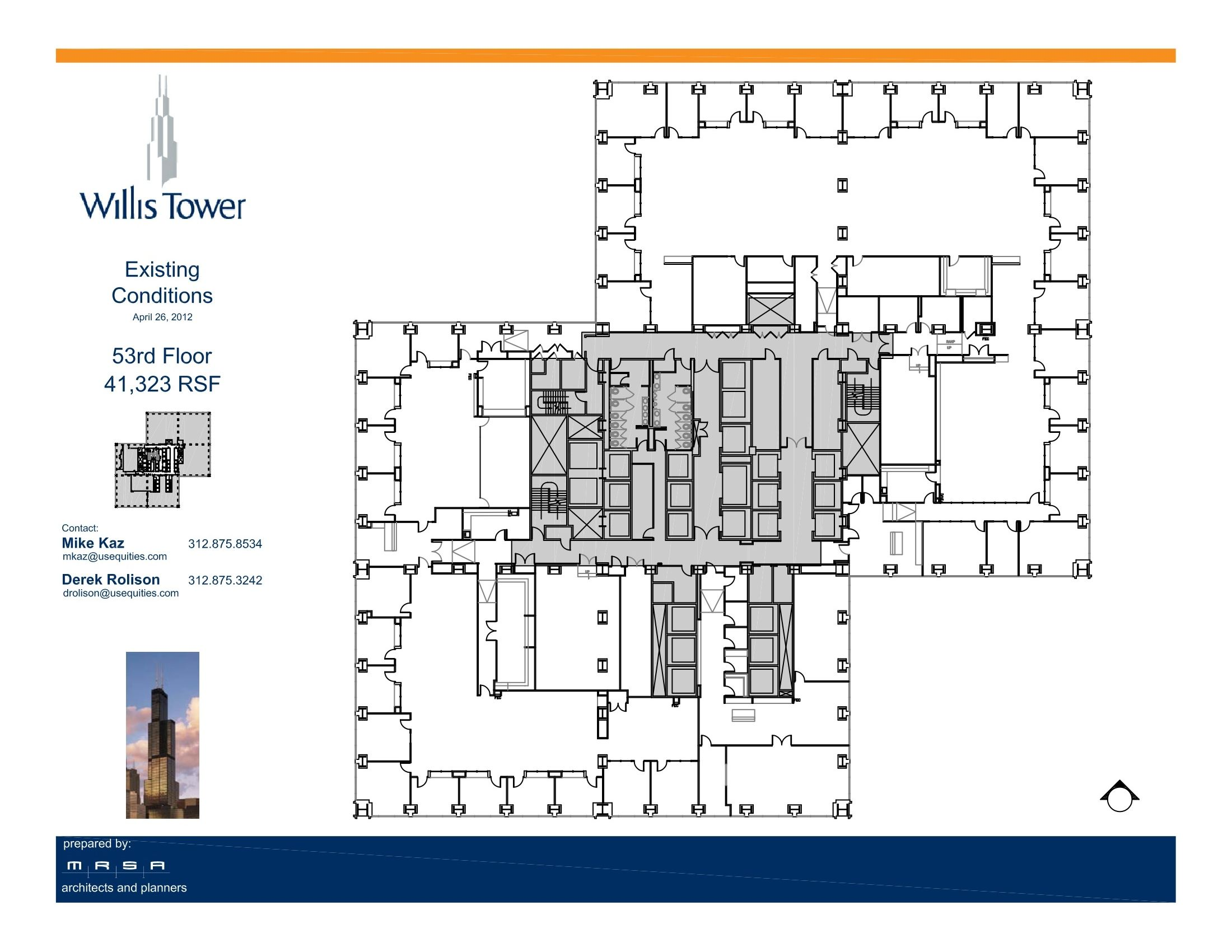 Willis Tower Floor Plans Chicago Il Usa Willis Tower Sears Tower Floor Plans