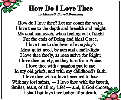 how do i love thee poem