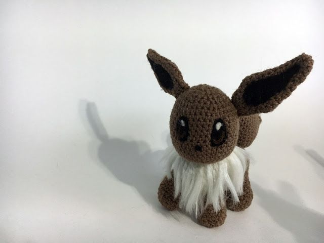 NERDpillo Handmade: Eevee Amigurumi - free crochet pattern ...
