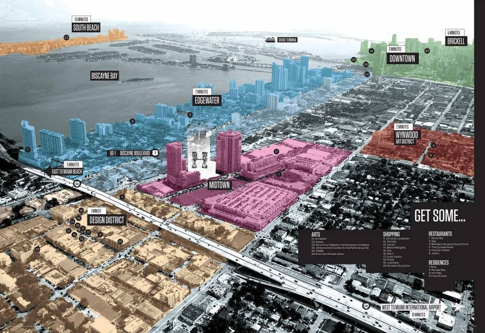 Midtown Miami Miami Fl Midtown Hotels Midtown South Beach