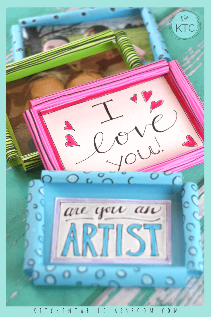 Diy Picture Frame Super Simple Paper Picture Frames Picture