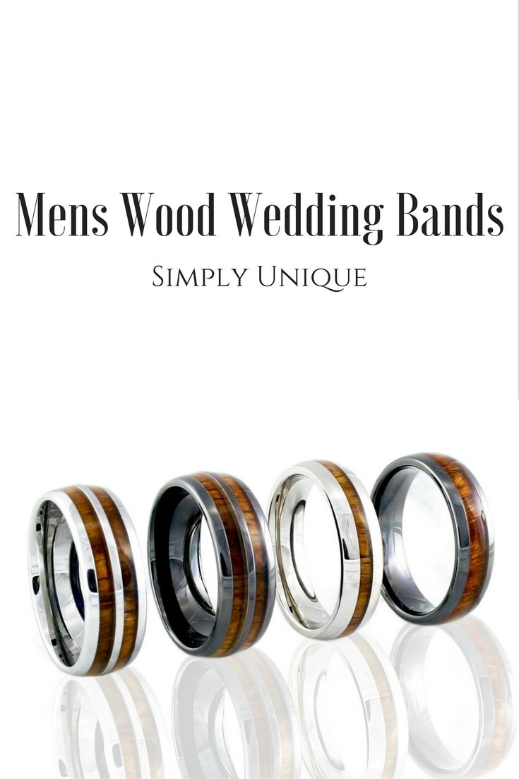 Mens Wood Wedding Bands Finally mens rings that really are unique