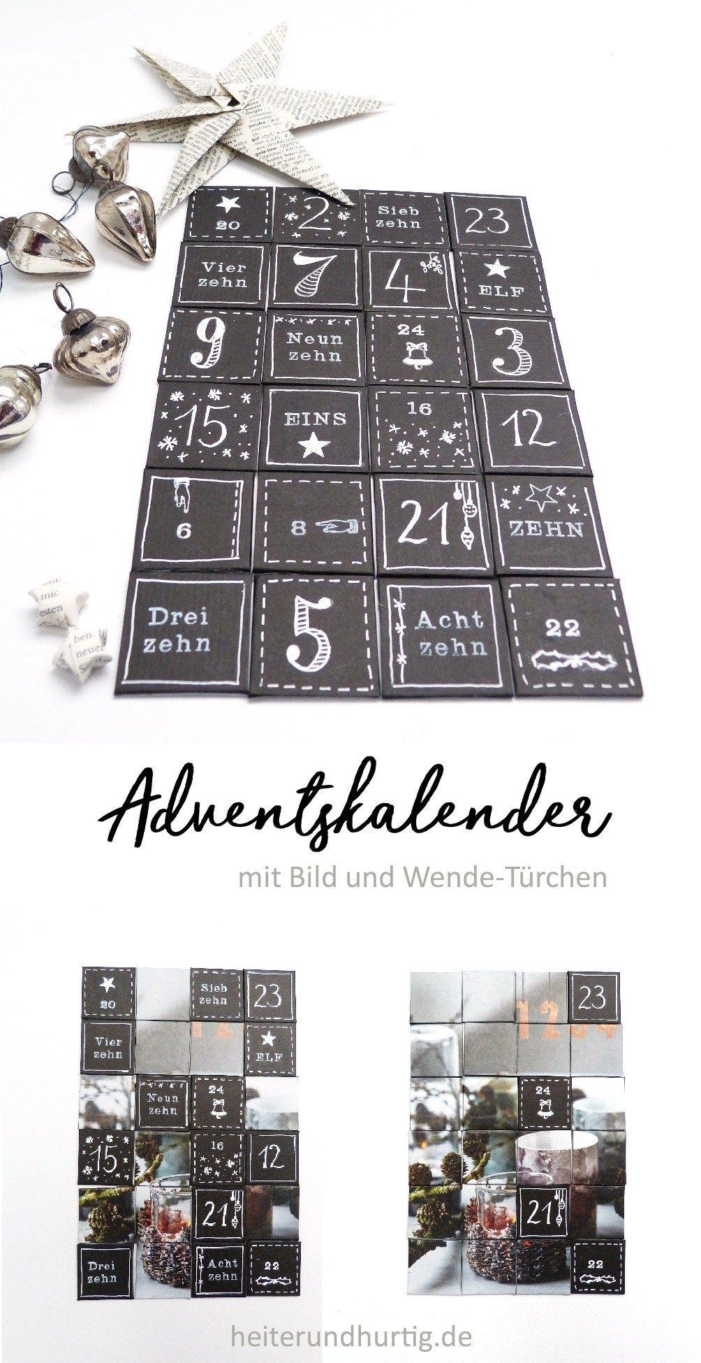 Ein DIY Adventskalender mit Bildern | heiterundhurtig.de