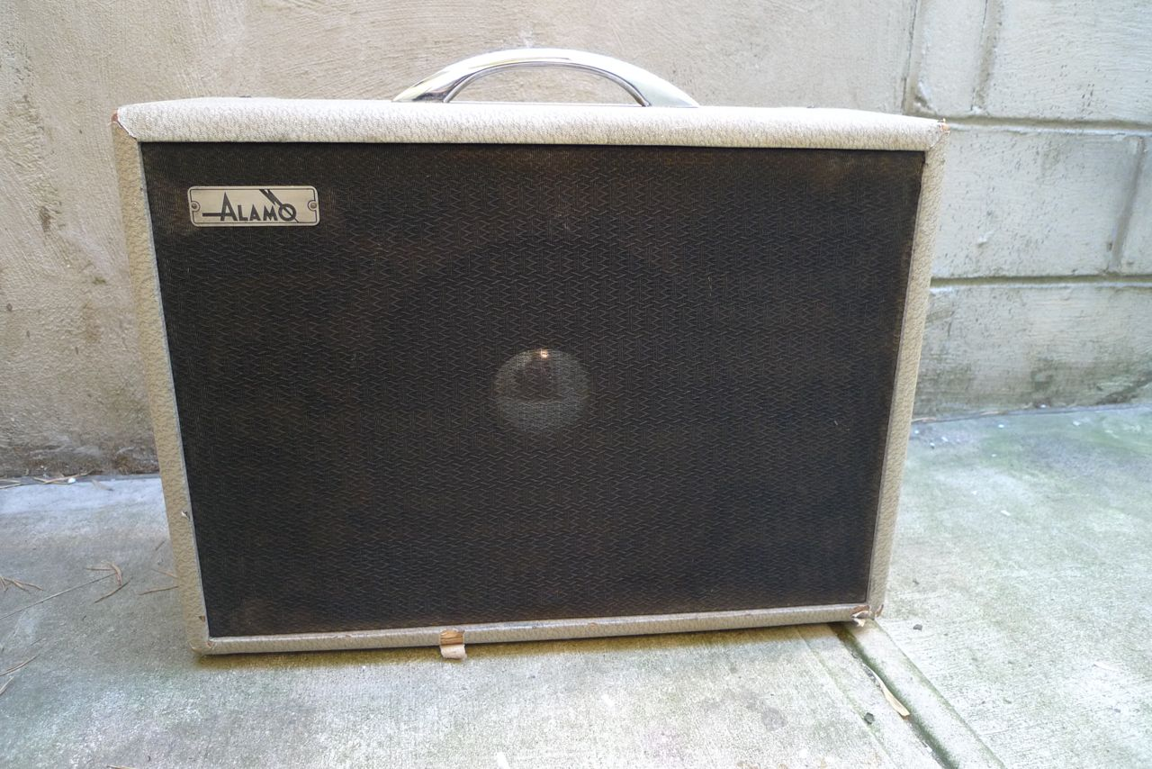 hight resolution of vintage alamo tube amplifier 1950 s from san antonio texas made texas played