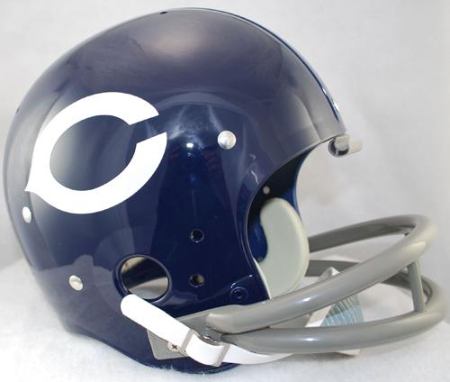 Chicago Bears 1962 to 1973 TK Throwback Football Helmet