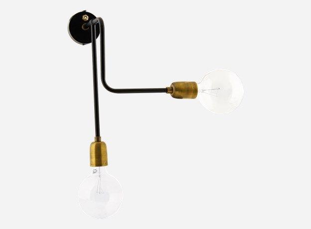 Cb wandlampe molecular schwarz weiss cm e max