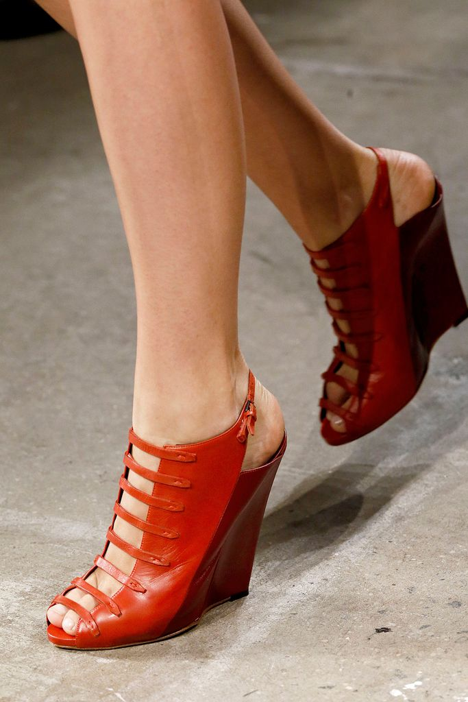 Narcis Rodriguez Spring 2013 #ss13 #nyfw #shoes