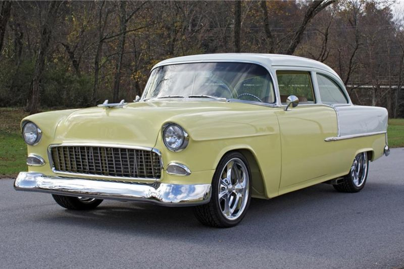My First Car Was An All Original Yellow And White 1955 Bel Air Sold For 100 00 In Prime Condition To Get A 71 Dodge Demon Car Chevrolet 1955 Chevrolet 55 Chevy