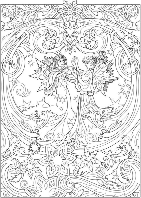 Pin By Viviana Tula On Coloring People Mermaid Fairy Fairy Coloring Book Fairy Coloring Fairy Coloring Pages