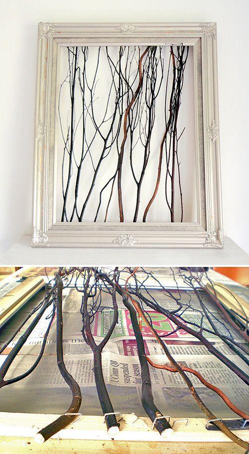 Branch Out! Decorating with Branches Deko ideen, Deko und Holz - wanddeko ideen