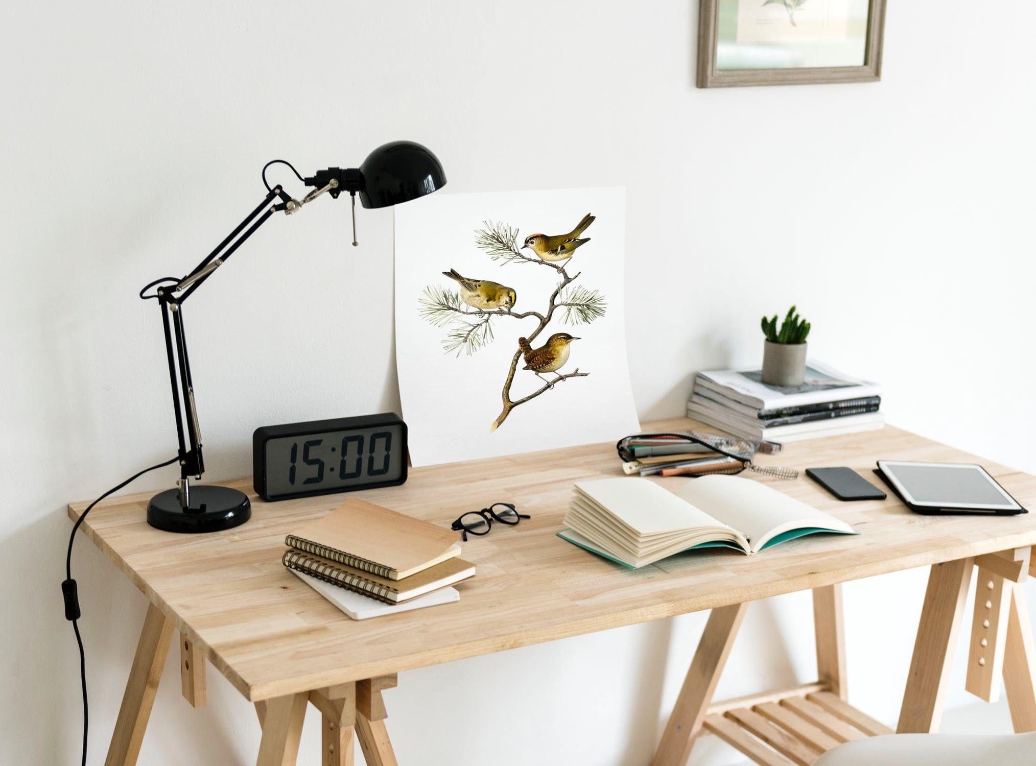Bien Etre Au Travail Quelle Decoration Fabriquer Un Bureau Bureau Fait Maison Mobilier De Salon