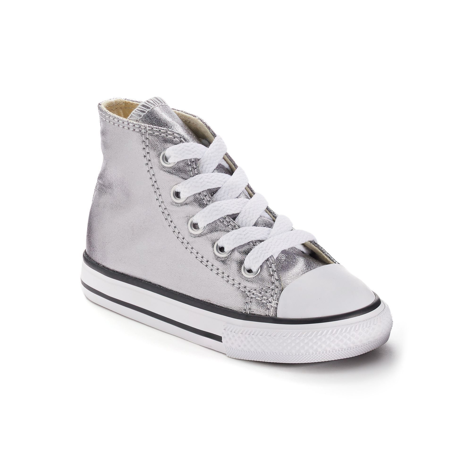 be1ae1d0235 Toddler Converse Chuck Taylor All Star Metallic High-Top Sneakers ...