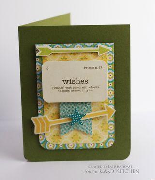 By Latisha Yoast for Card Kitchen