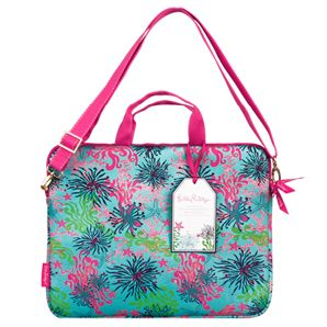 Lilly Pulitzer Agendas, iPhone Cases & Accessories plus Susan Wallace Barnes Calendars and Jonathan Adler Gifts - - Lilly Pulitzer Laptop Tote with Shoulder Strap - Dirty Shirley
