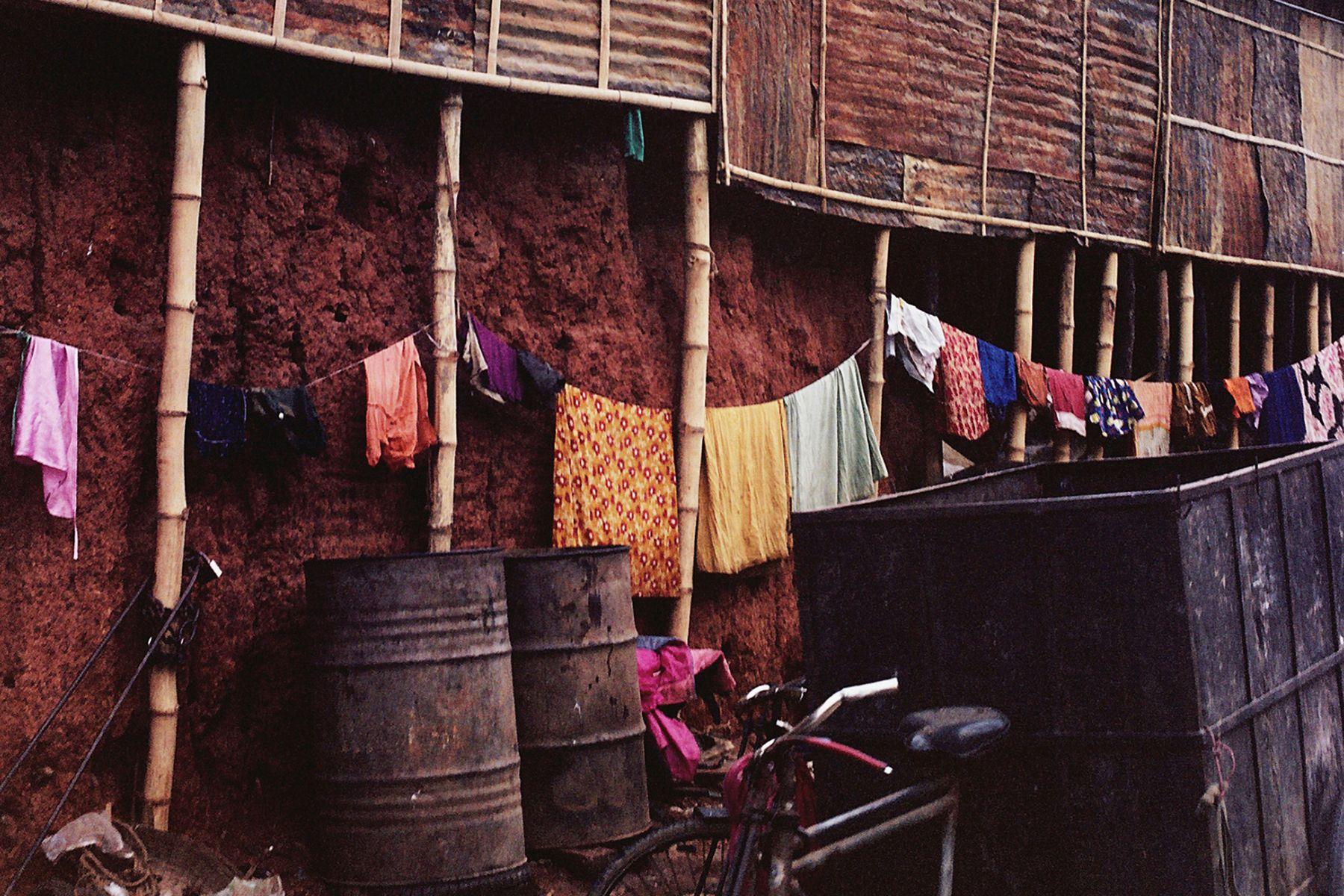 Washing day in Dhaka Bangladesh by Fiona Nicholson