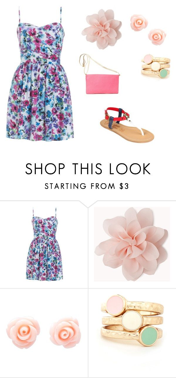 """Levy"" by laramegurine ❤ liked on Polyvore featuring Lipsy, Forever 21 and Friis & Company"