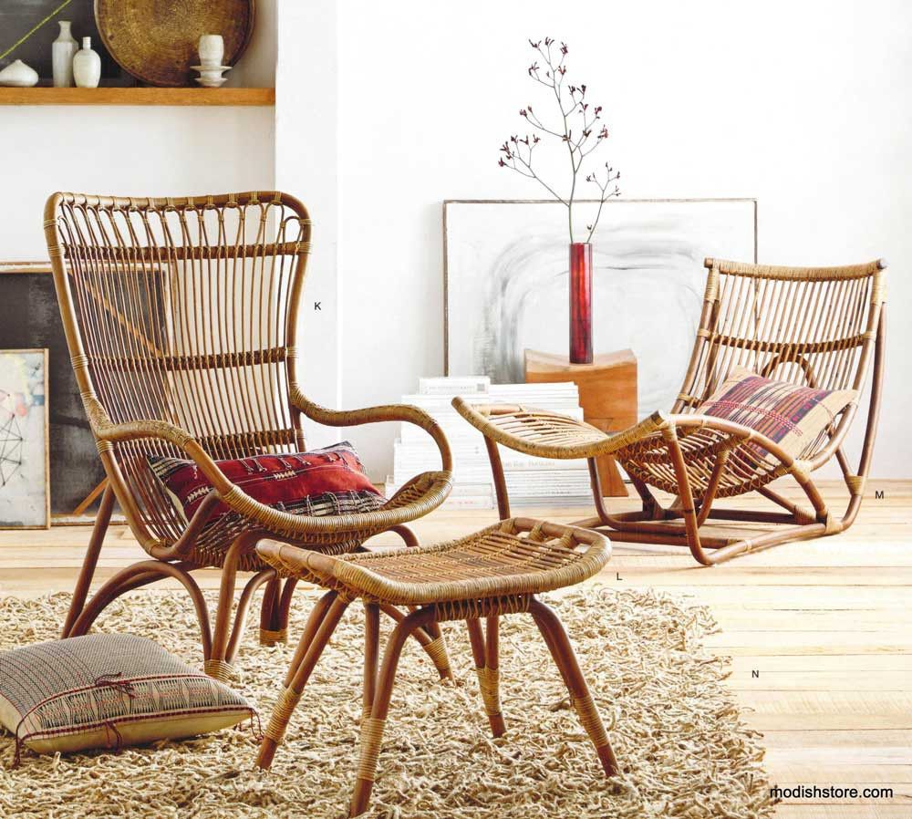 Roost Lars Rattan Collection | Furniture, Ottomans And Adirondack ... Rattan Mobel Kollektion