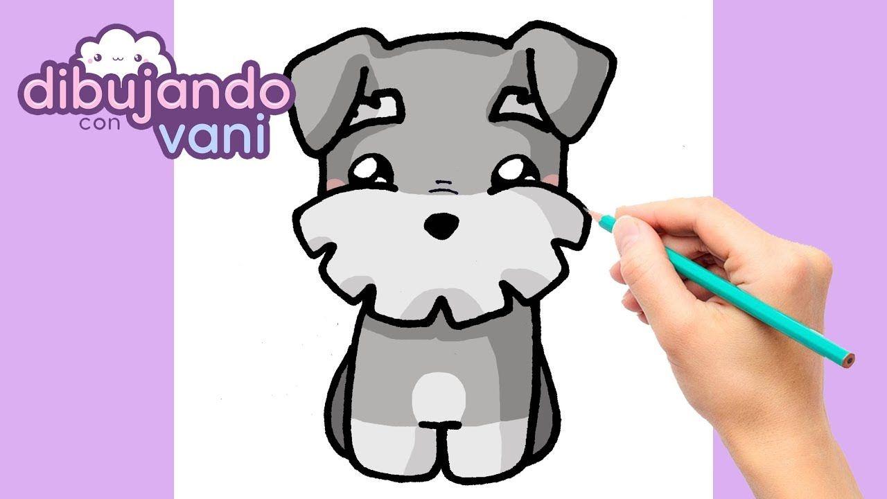 Como Dibujar Un Perro Schnauzer Kawaii Dibujos Imagenes Faciles Anime Como Dibujar Un Perro Animales Faciles De Dibujar Dibujos Kawaii De Animales