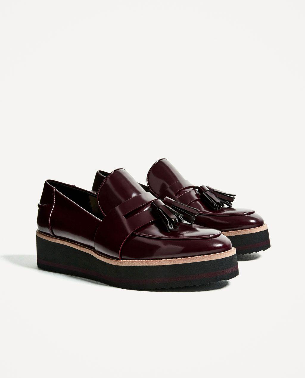 ZapatosCueroNegroCuña cm 5 Abril 4 shoes gfwq4FT