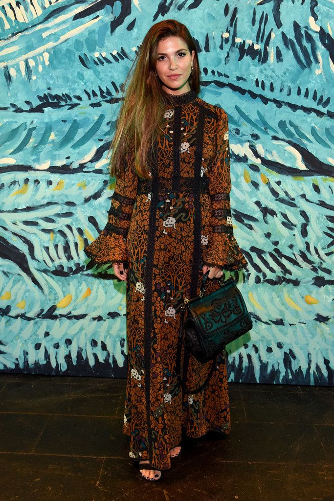 Anna Sui - Front Row - Spring 2016 New York Fashion Week: The Shows - Negin Mirsalehi