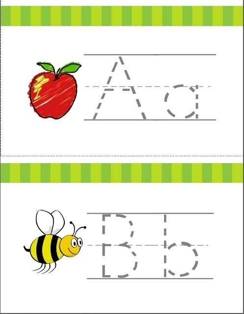 Learn The Alphabet Write Wipe Tracing Cards Worksheets Rf K