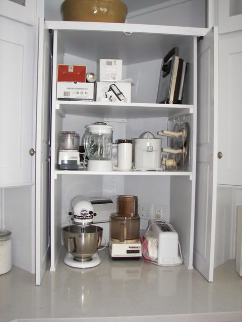 Appliance Garage | Appliance garage, Corner kitchen ...