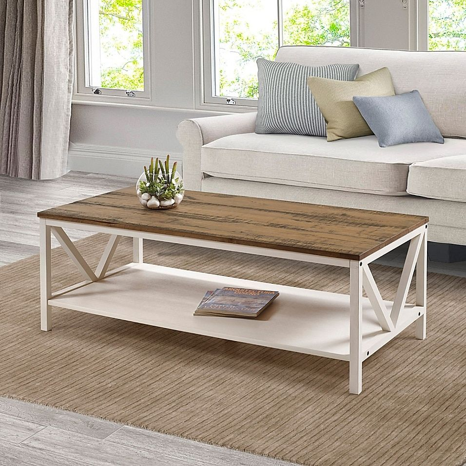 Forest Gate 48 Farmhouse Coffee Table In Rustic Oak White Wash White Rustic Oa In 2021 Wood Farmhouse Coffee Table Coffee Table Rectangle Farmhouse Style Coffee Table [ 956 x 956 Pixel ]
