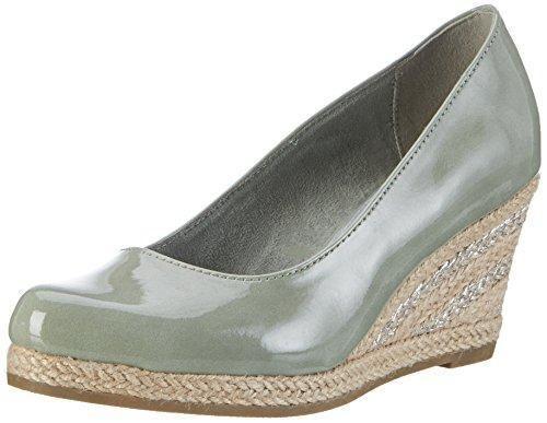 Zapatos verdes Marco Tozzi para mujer XoCvtj