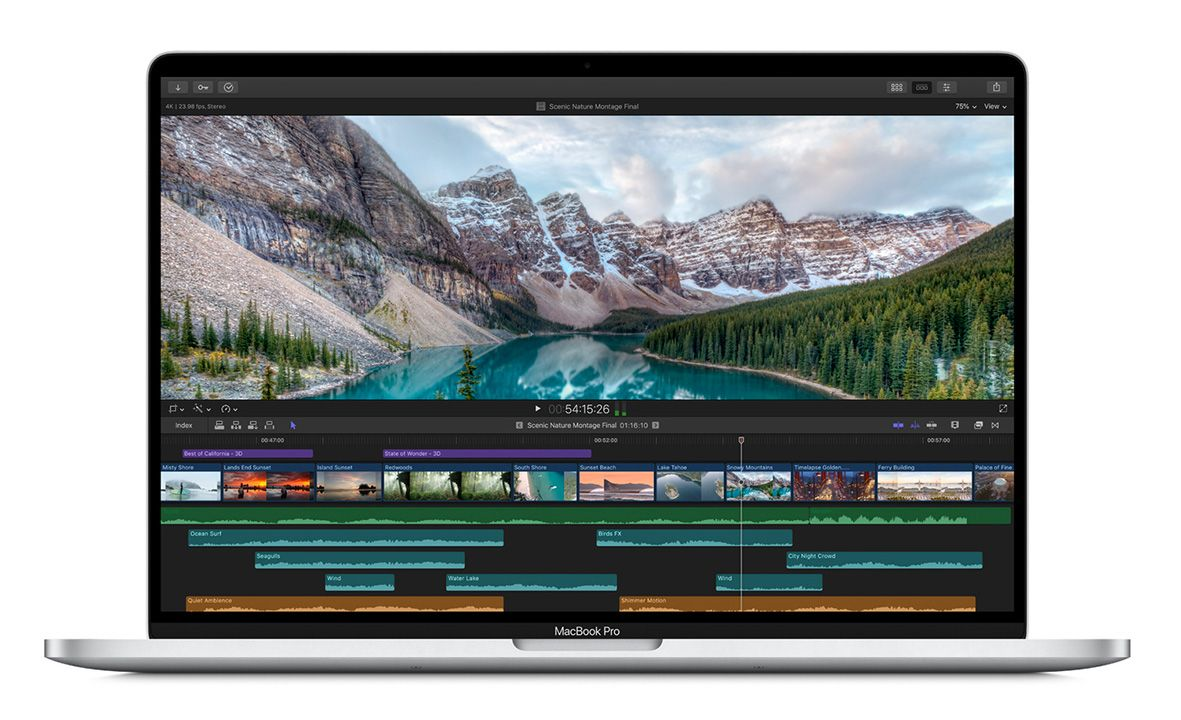 Apple Unveils Super-Sharp 16-Inch MacBook Pro
