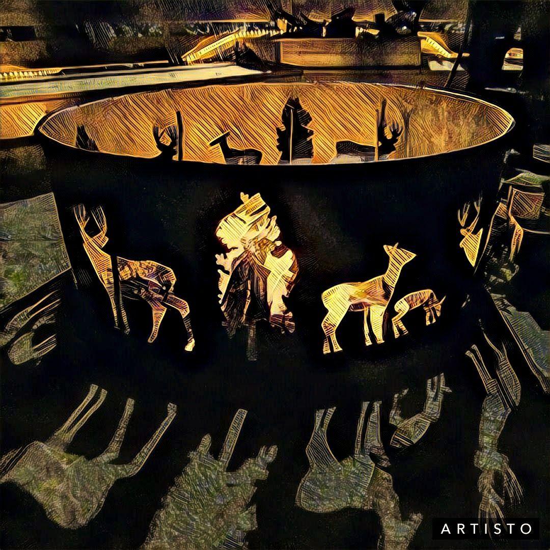 Pine Bough P/&D Metal Works PBFR00938 Fire Ring