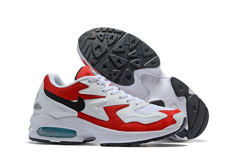 big sale 39680 99249 Brand New Nike Air Max2 Light 104042-601 Men s Storm Red Black-Clear Jade  Running Shoes