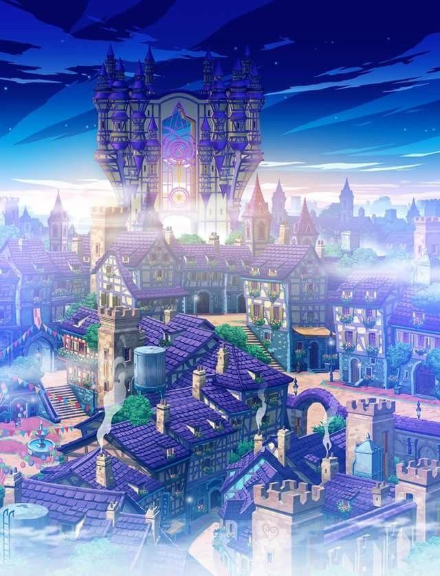 Download 9100 Final Fantasy Wallpaper Town HD Terbaru