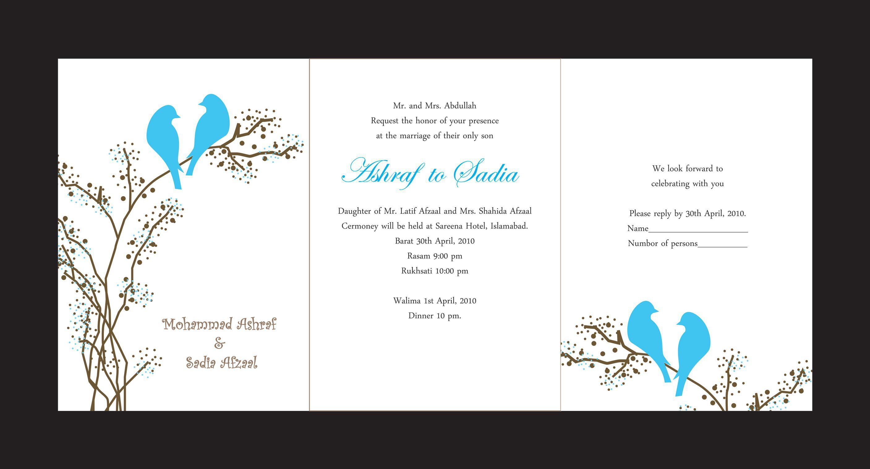 invitation card design online free | wedding invitations | Pinterest ...