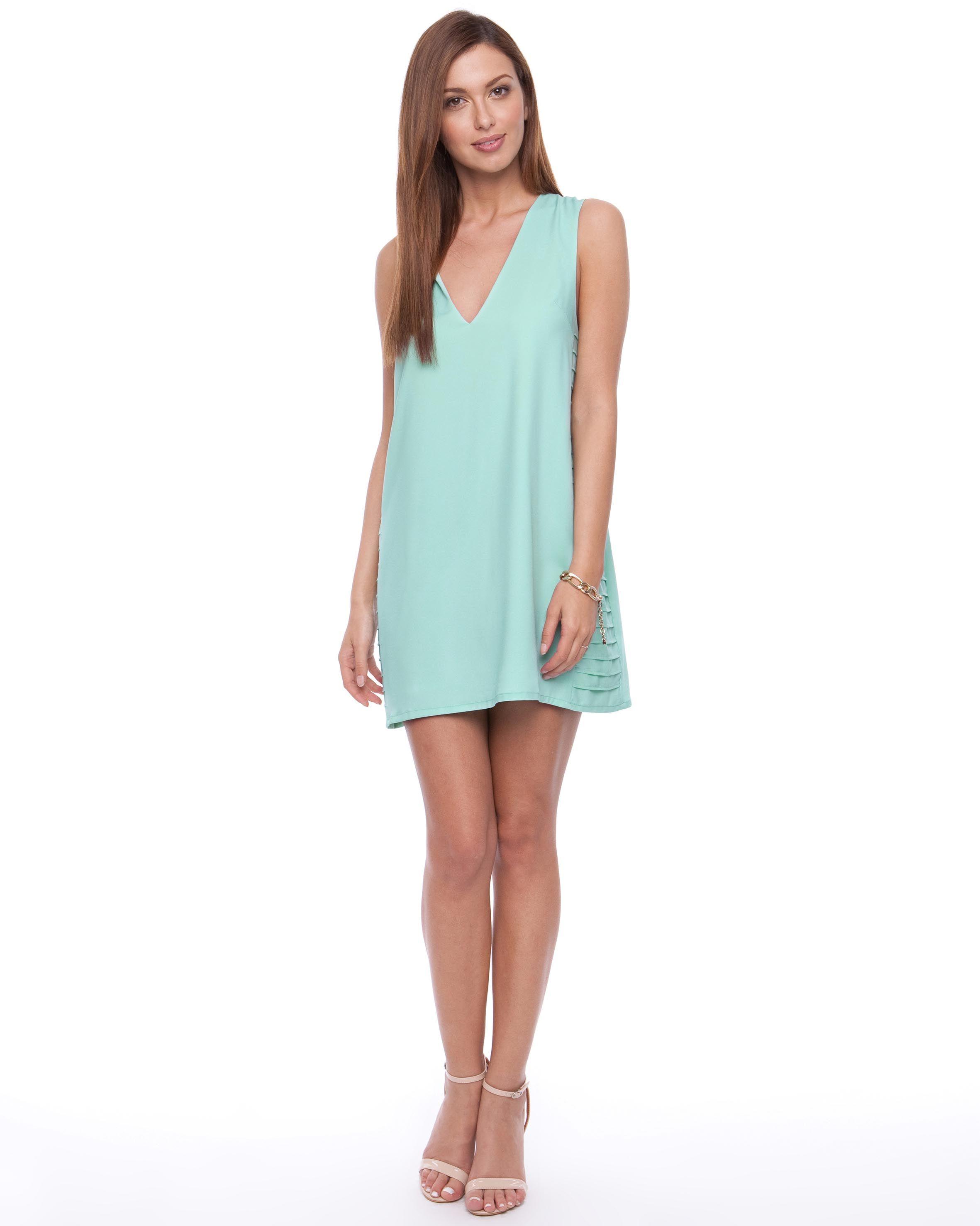Panel Side Shift Dress by Indikah Online