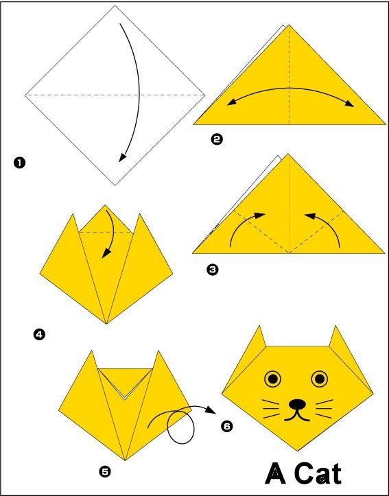 Pasos para hacer figuras de origami - Imagui