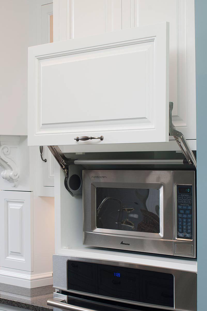 Microwave Hideaway Cabinet