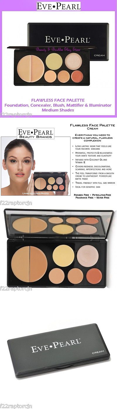 Other Face Makeup: New Eve Pearl Flawless Face Palette-Medium Shades Free Shipping Face Makeup Kit BUY IT NOW ONLY: $79.95