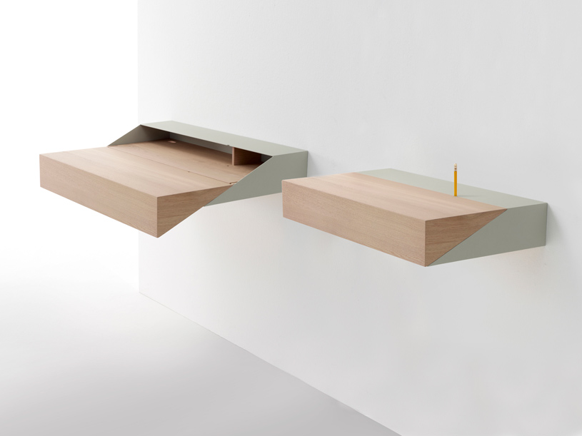 DESKBOX a small desk By Yael Mer and Shay Akalay for Arco