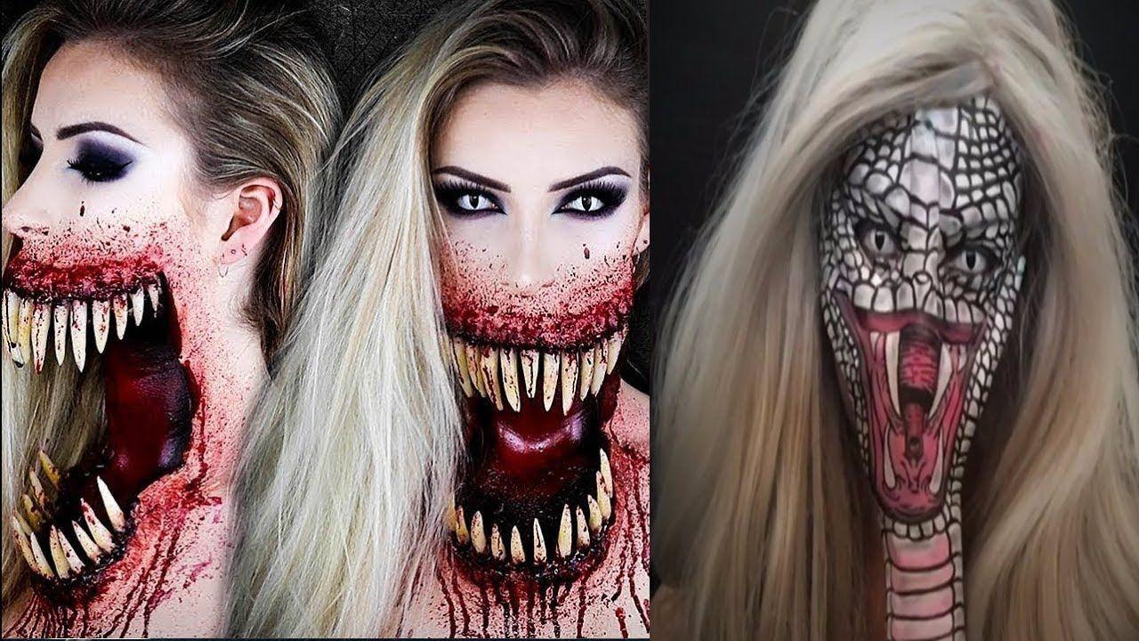 Incriveis Maquiagens Artisticas Maquiagem Artistica Maquiagem Halloween