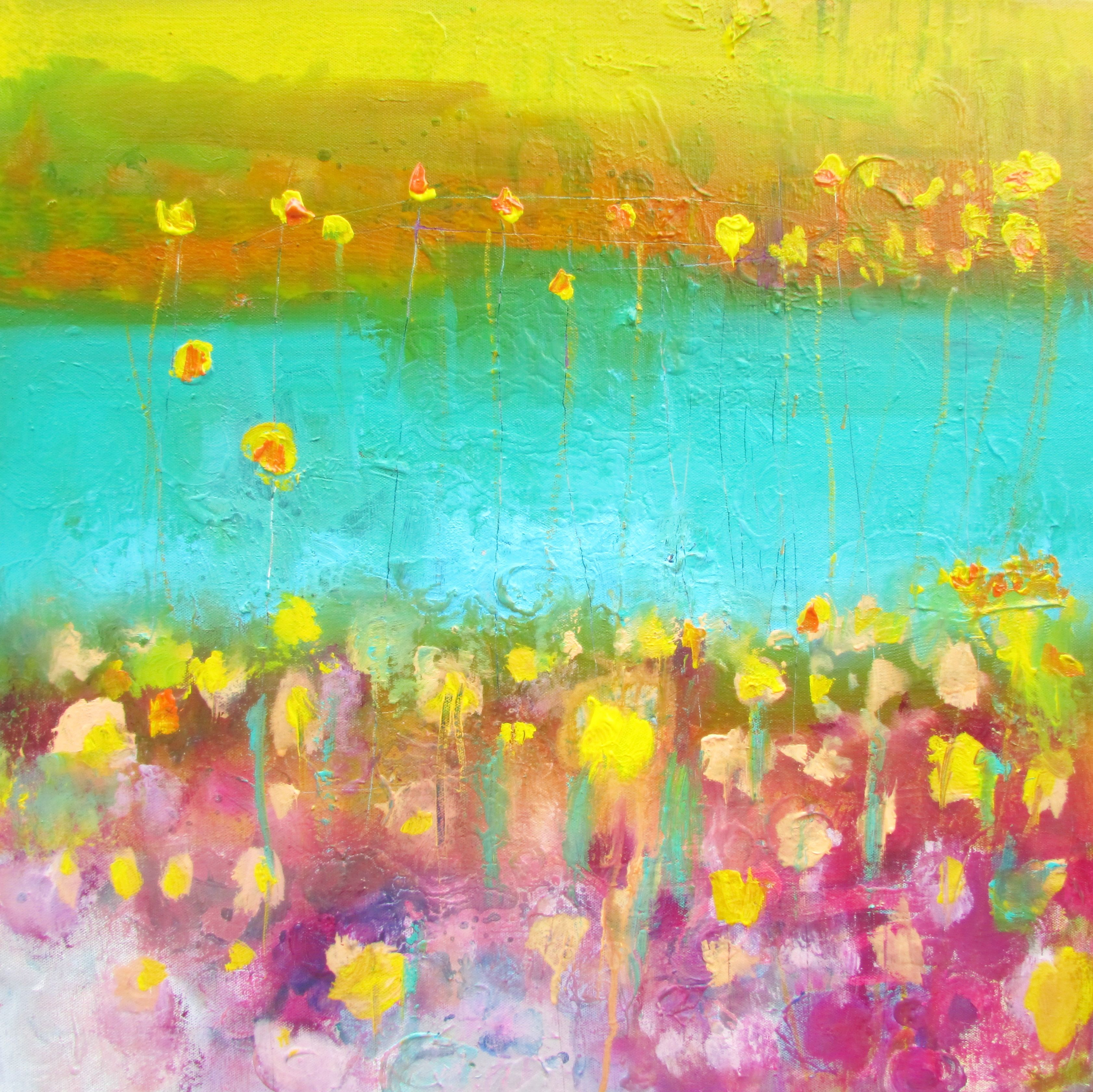 field of gold 24x24 canvas wendy mcwilliams
