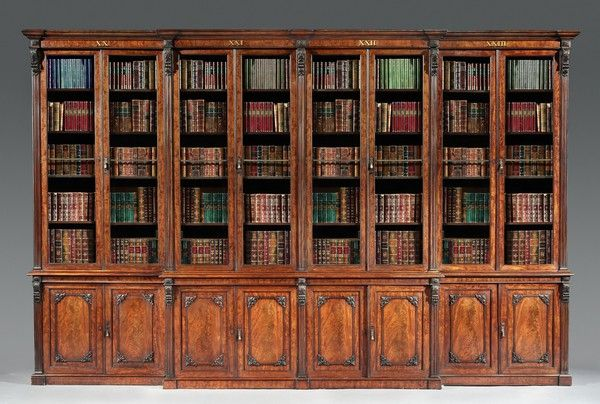 Antique library bookcases Ornate An Antique Mahogany Library Bookcase Pinterest An Antique Mahogany Library Bookcase Mis Furniture Pinterest
