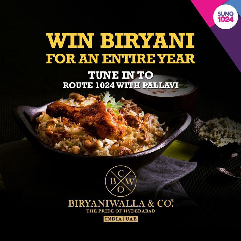 Get Free Biryani For One Year On Occasion Of Uae National Day And The Anniversary Of Biryaniwalla Co Al Nahda Dubai We Are De Biryani Uae National Day Food