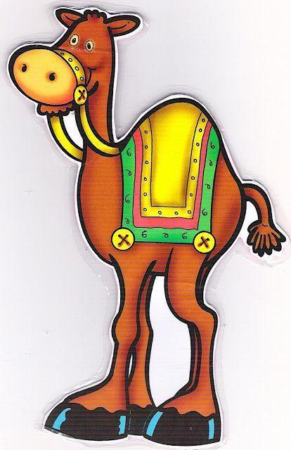 Camello 4 Munecos Navidenos En Tela Dibujos Infantiles De Navidad Arte De Navidad