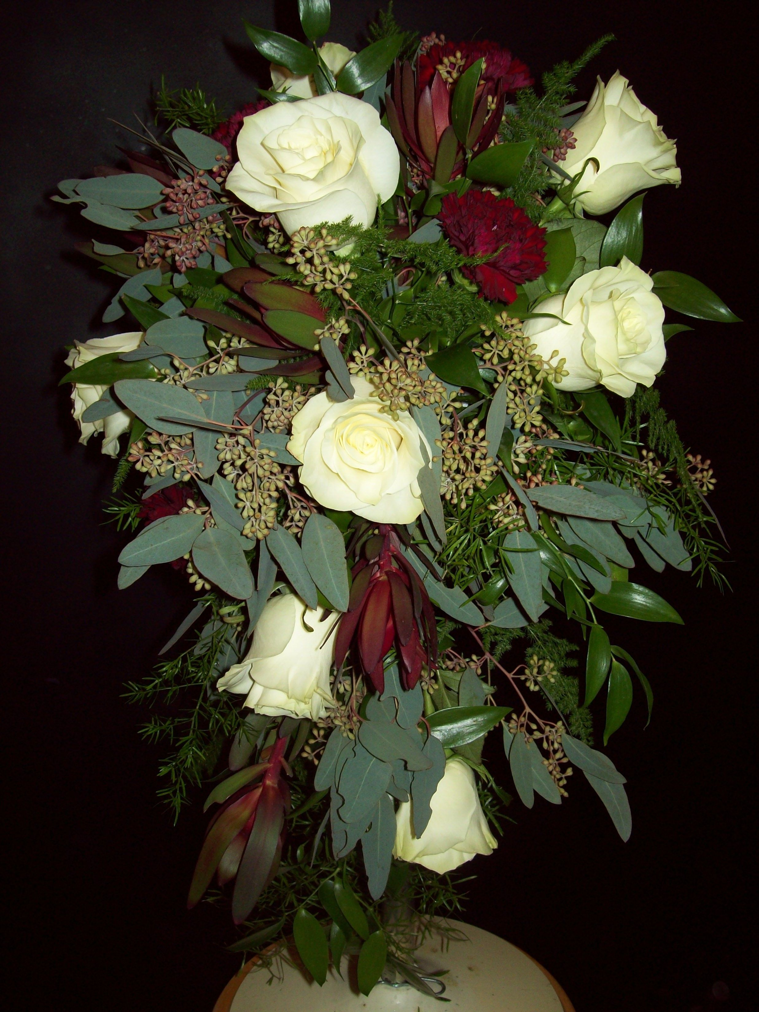 Cascading Bridal Bouquet Cascading bridal bouquets
