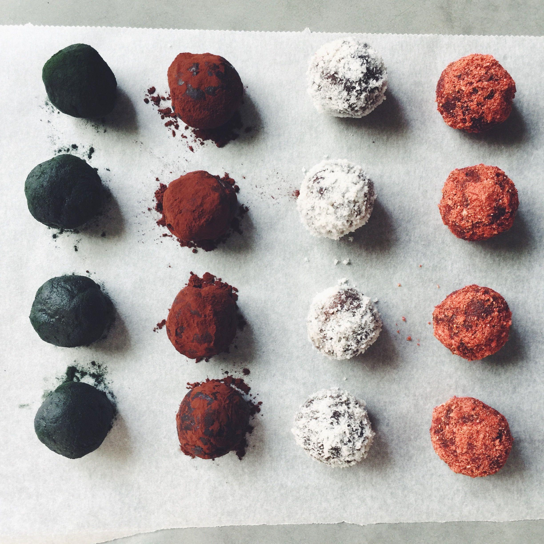 RAW choco balls
