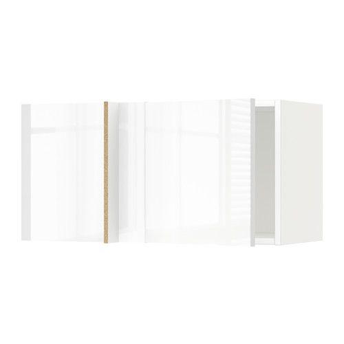 Placards De Cuisine · IKEA   METOD, Élément Mural Du0026amp;#39;angle, Blanc,  Ringhult