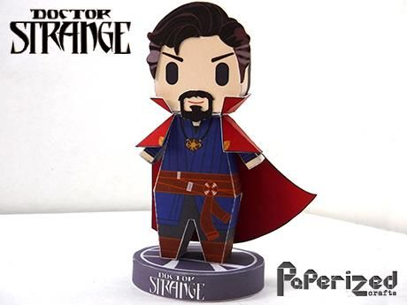 Dr Stephen Vincent Strange Also Known As Doctor Strange Is A Fictional Superhero Appearing In American Co Paper Toys Papercraft Download Doctor Strange
