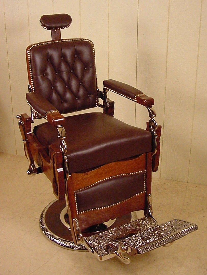 barber chair inspiration 2 tid bits Pinterest