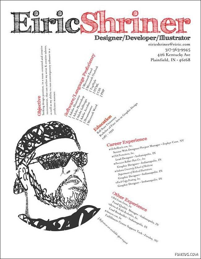 On The Cover Of A MagazineCreative Cv Designs  Design Cv