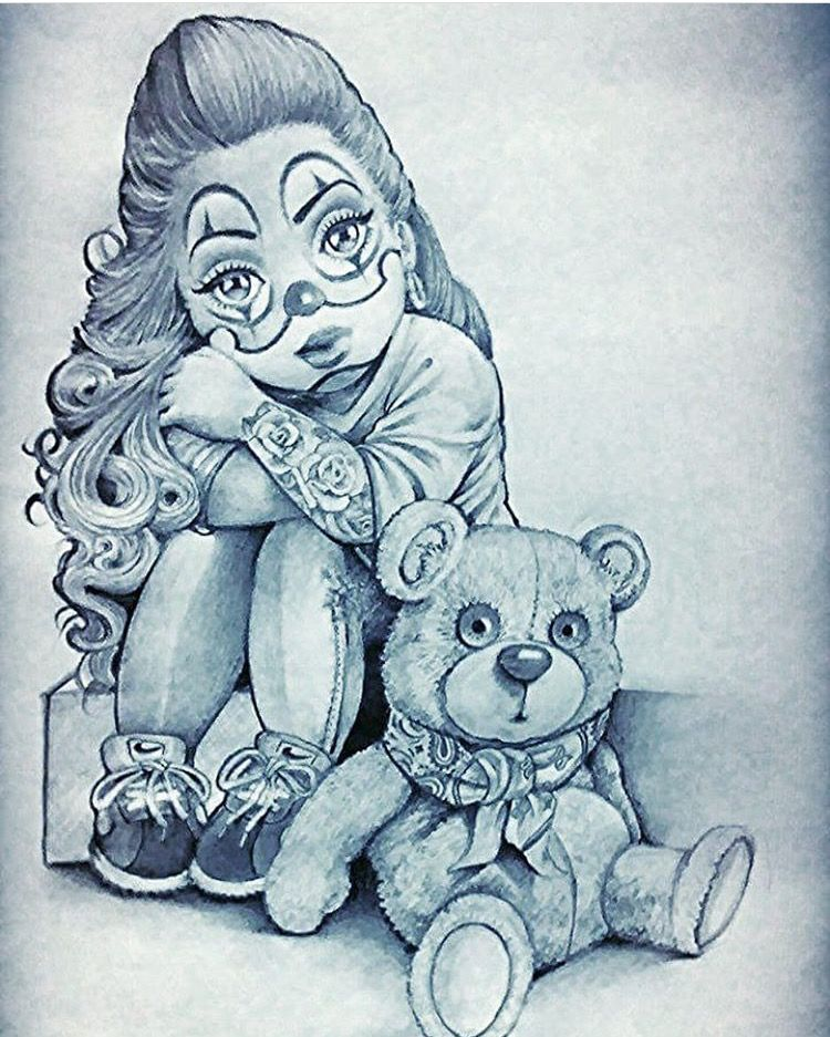 4109ec59f497e @JvBabycakez ♡ Tattoo Chicana, Chicano Tattoos Gangsters, Chicano Art  Tattoos, Gangsta Tattoos